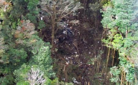 Ngeri.. Nih Foto Serpihan Pesawat Trigana Air ATR 42-300 ditemukan Dalam Kondisi Hancur di Papua