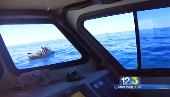 California kayak anglers rescued after attack by great white shark