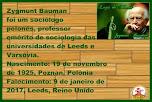 Zygmunt Bauman - Mensagens e Frases