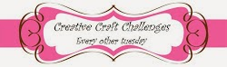 Jeg ble top 3 ho Creative Craft Challenges