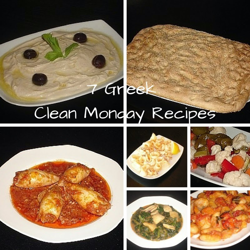 Recipes for Greek Clean Monday