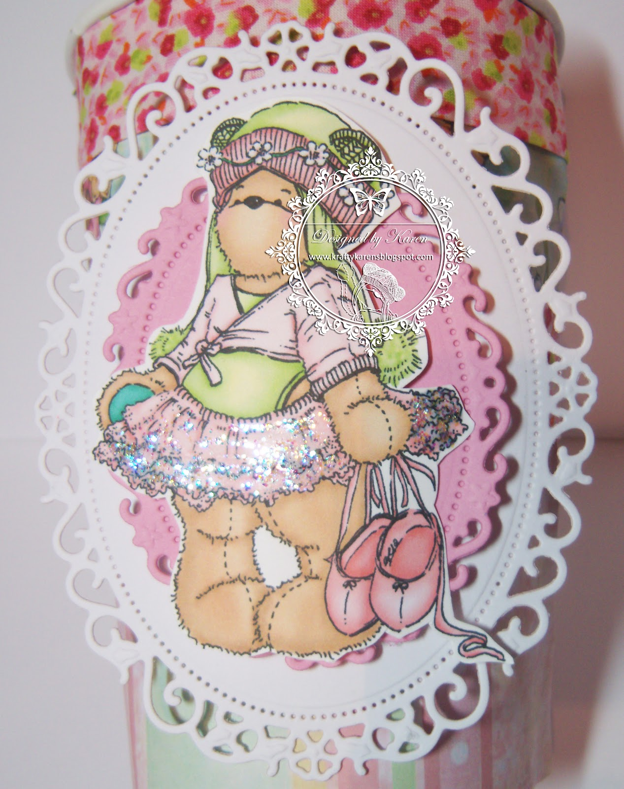 Ribbon Work Designs http://teddybochallenge.blogspot.com/2012/09/fairy-tale-friday_28.html