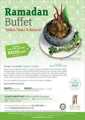Senarai Buffet Ramadhan Terkini. Senarai Bufet Buka Puasa / Bufet Iftar 2015