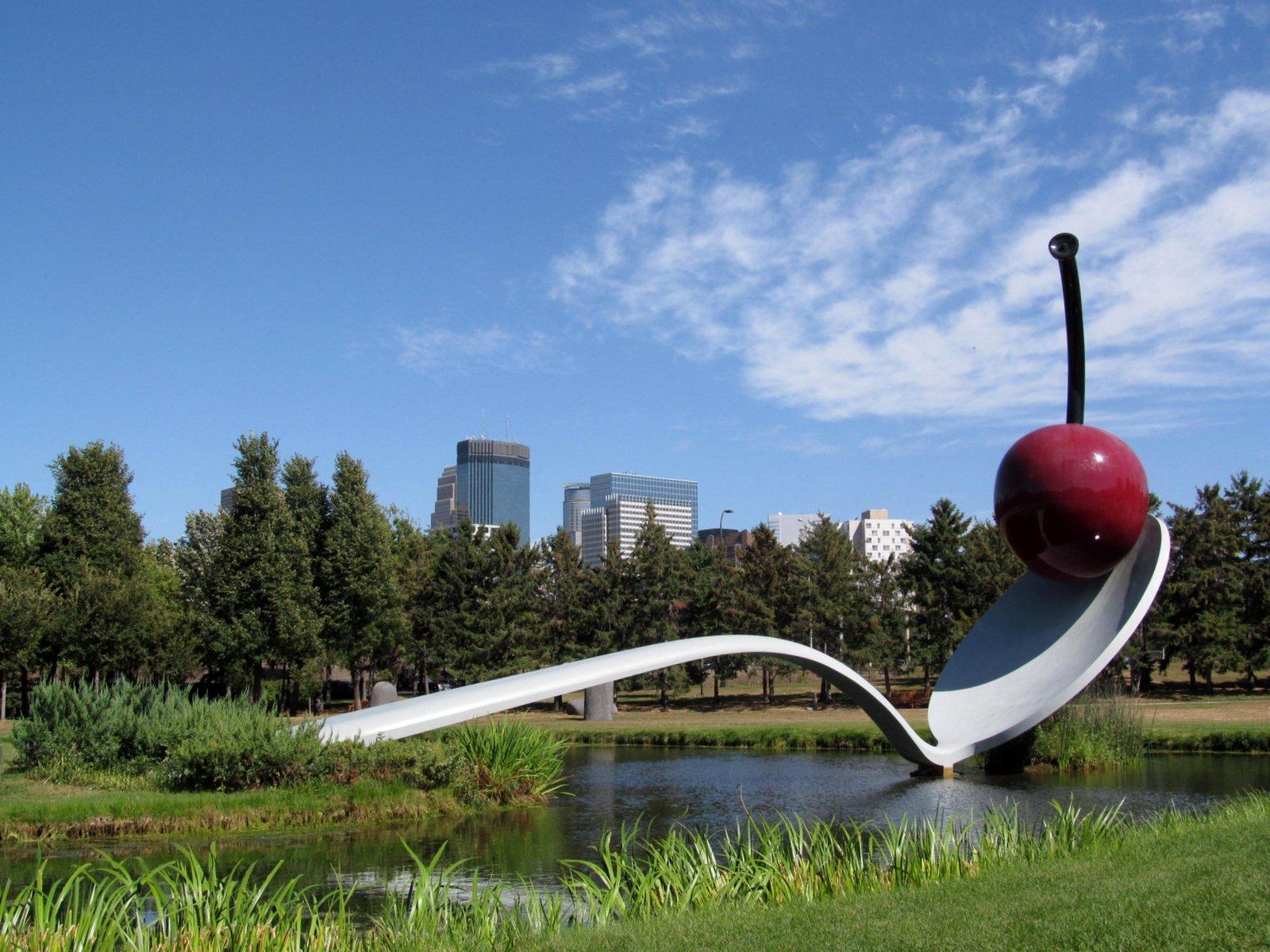 Hshipman Minneapolis Sculpture Garden