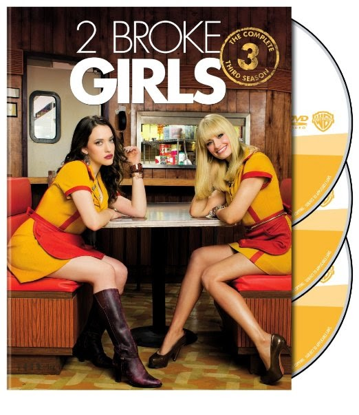 2 Broke Girls Season 3 DVD