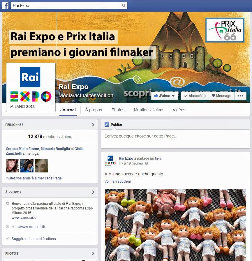 Rai Expo Facebook