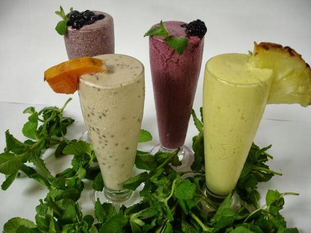 Shakes Gostosos e Saudáveis