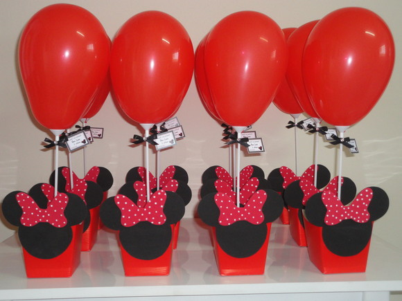 Centro De Mesa De Minnie Mouse
