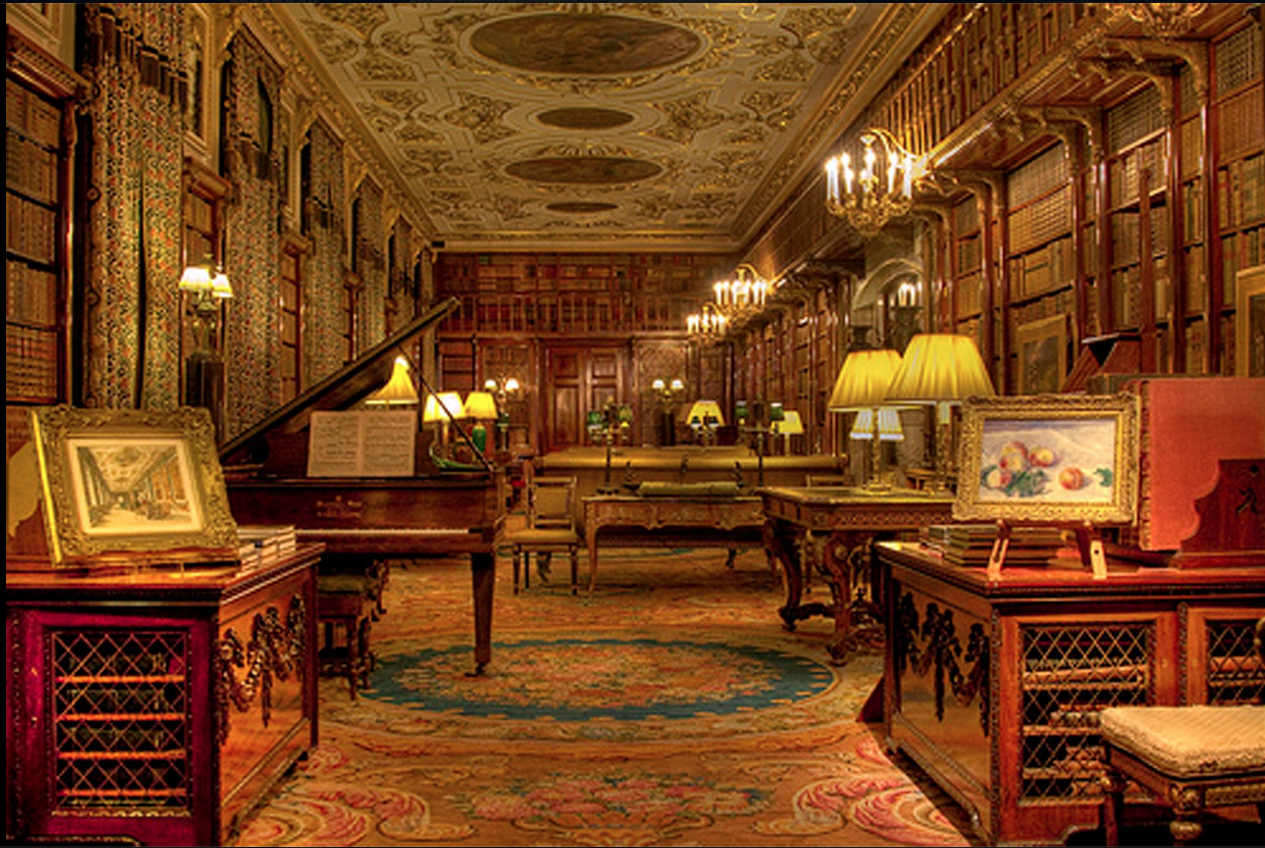 Bensozia English Country House Libraries