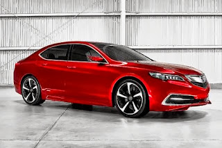 Acura TLX sideview