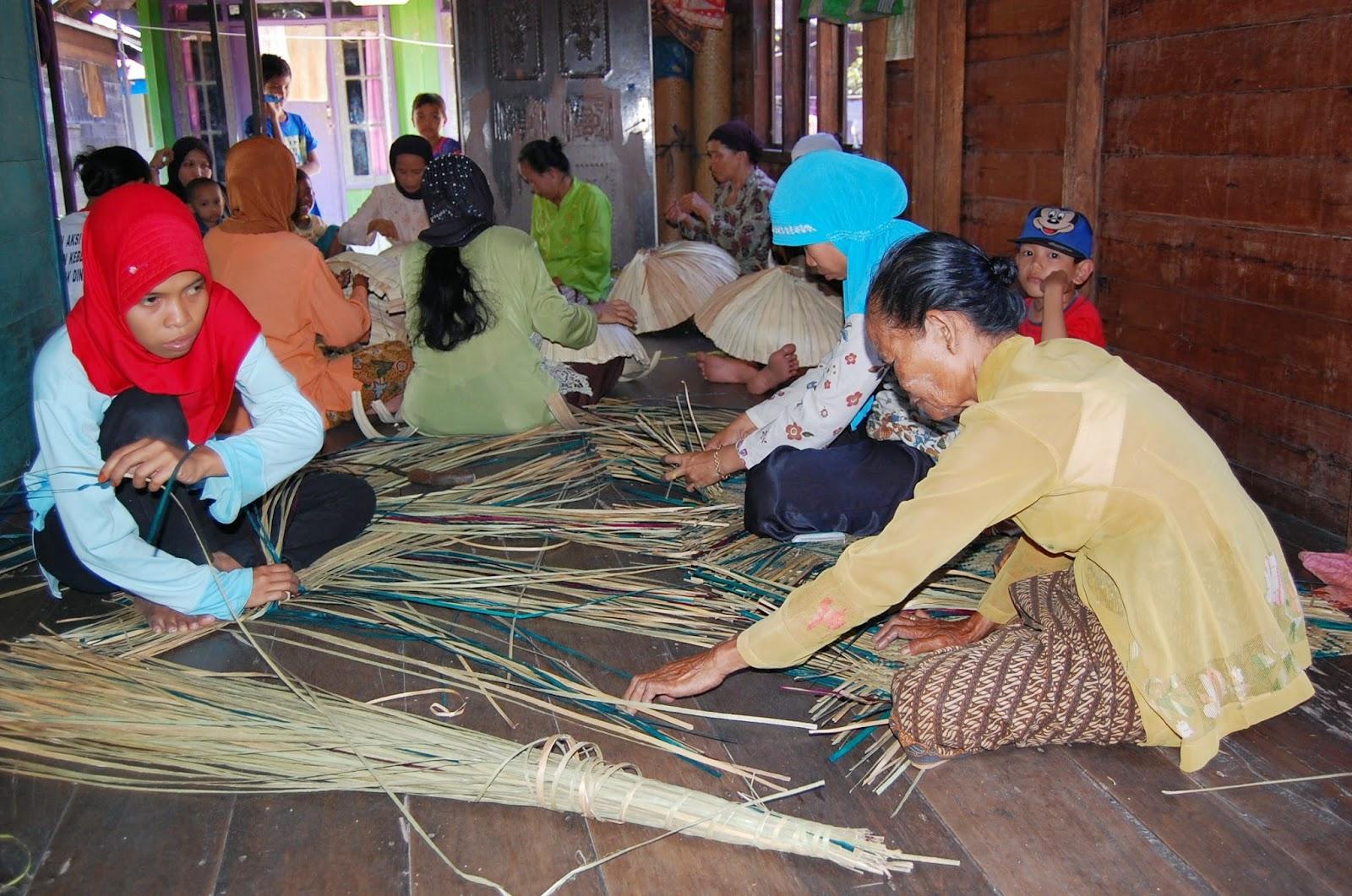 Tikar Purun, Purun Kalsel, Banjarmasin, BaritoKuala, Tikar khas Kalimantan Selatan, Tikar purun kalseln