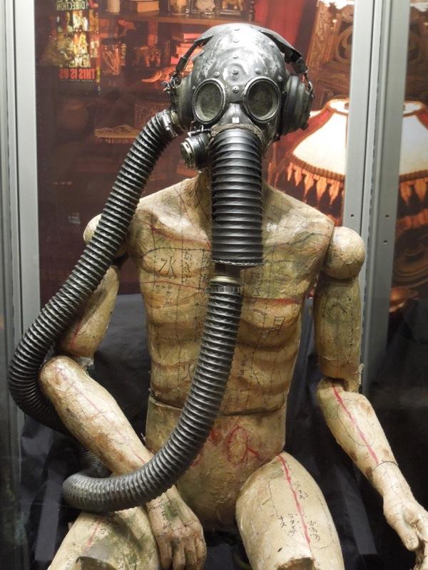 original Insidious 2 Gas mask mannequin prop