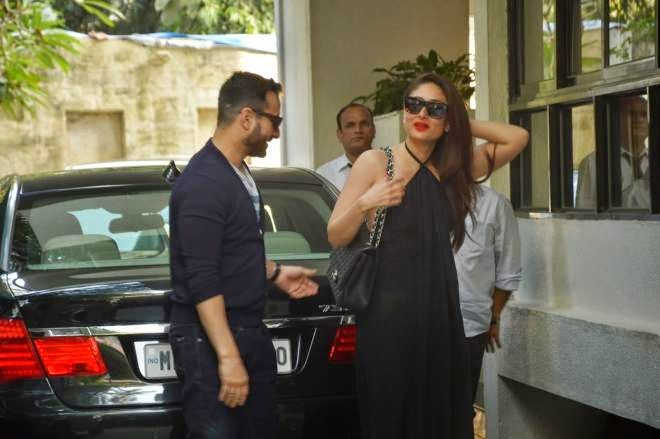 Kareena Kapoor Hot Wallpapers In Black Gown