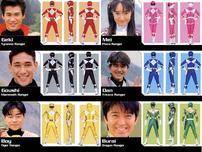 Power Rangers originales - super sentai