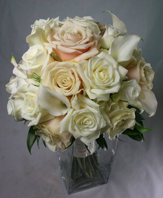 Champagne Ivory Wedding Bouquet Email This BlogThis