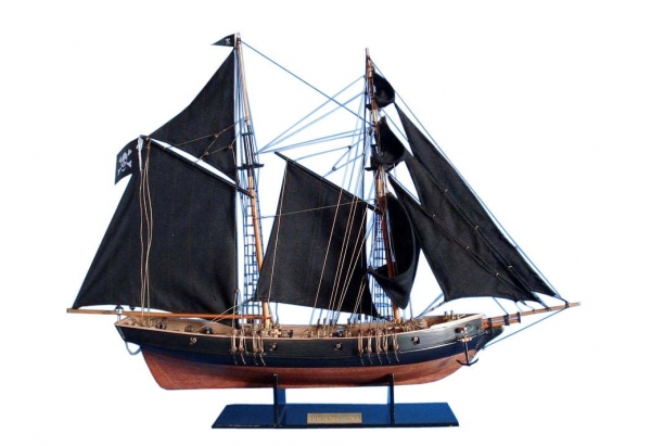 Black Prince Pirate Ship Model