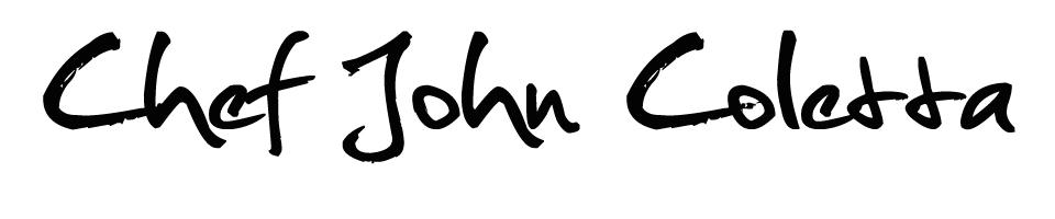 Chef John Coletta