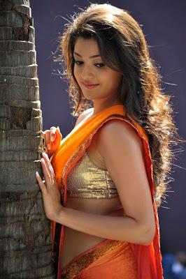 kajal agarwal new saree spicy unseen pics