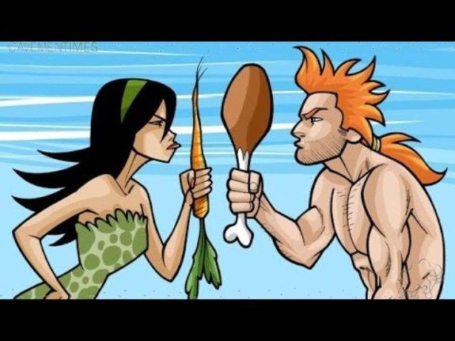 vegitarian vs meat eater