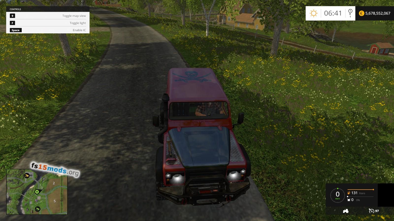Fs15 Land Rover Defender Dakar Re Car Fs15 Mods