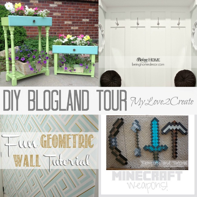 MyLove2Create, DIY Blogland Tour