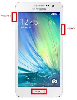 Samsung galaxy A3 Hard reset