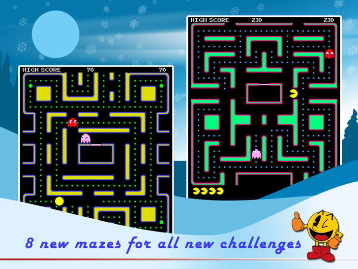 PAC-MAN App iTunes App By NAMCO BANDAI Games - FreeApps.ws