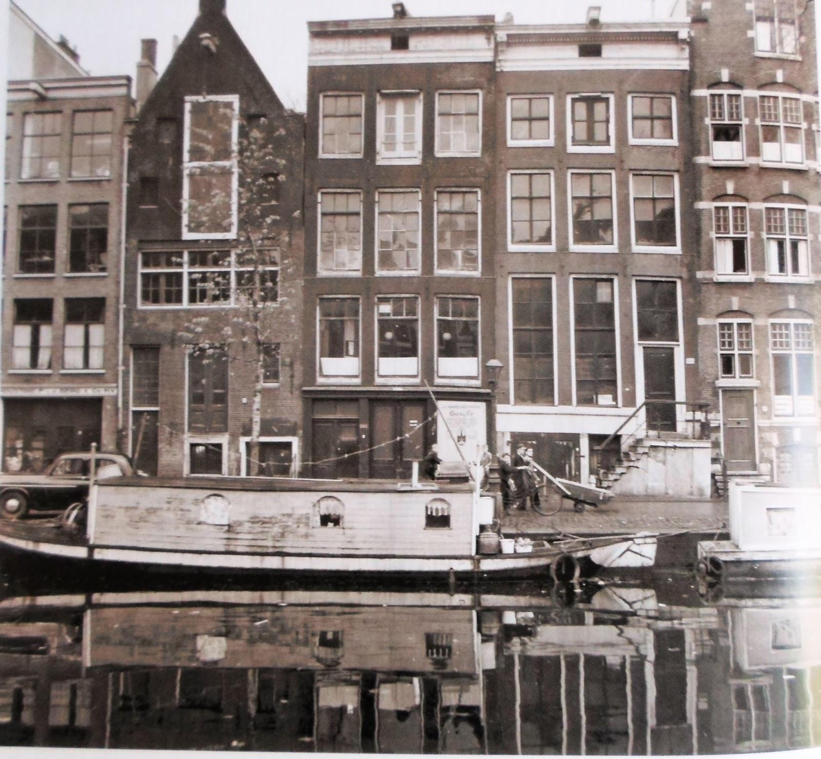 Le pagine bianche di anne frank prinsengracht 263 da for Alloggio a amsterdam
