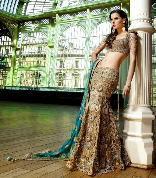 Fish Tail Lehenga Saree