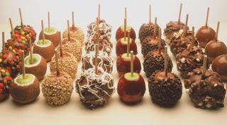 Apple lollipop