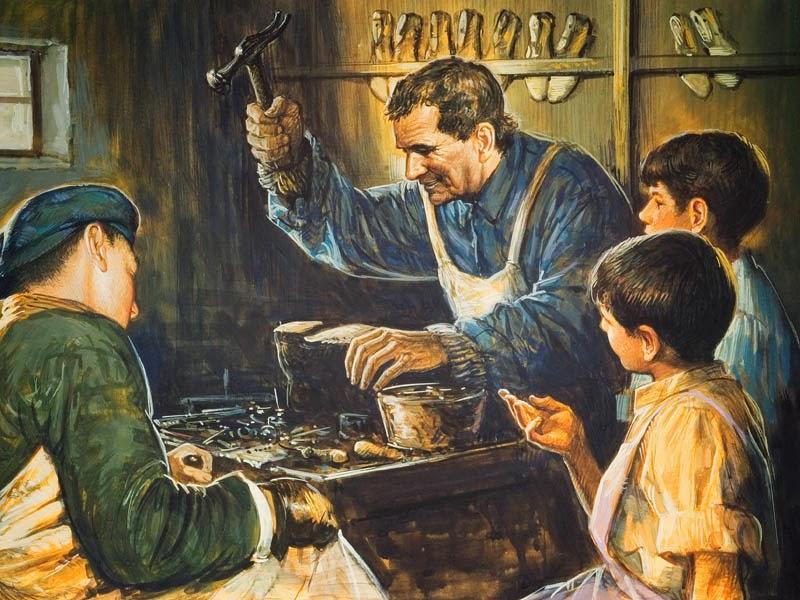 Don bosco y el trabajo for Talleres artesanales