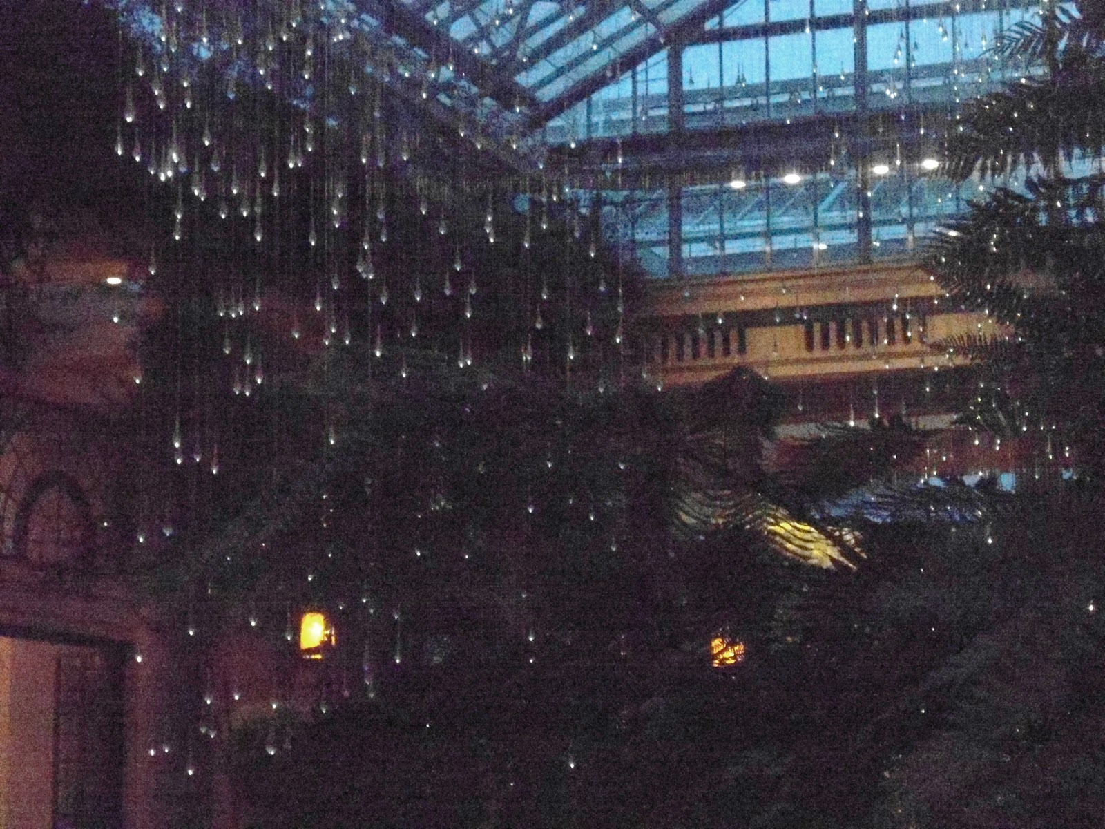 Pinkadot Quilts Longwood Garden Light Show