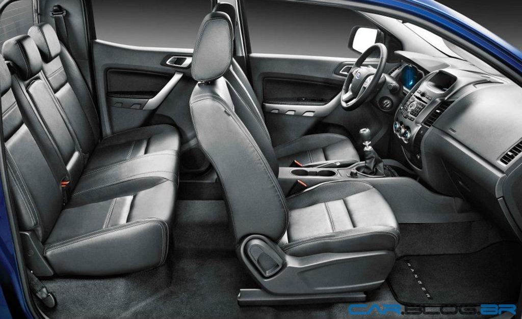 Nova Ford Ranger XLT Limited 3.2 Diesel estará à venda neste sábado