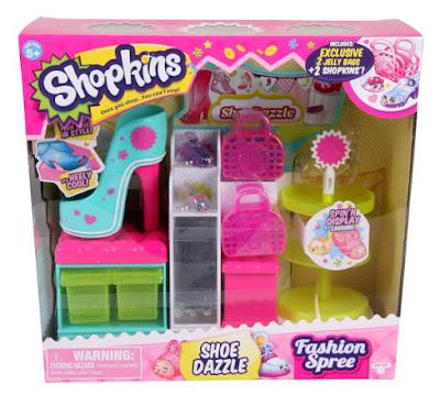 JUGUETES - SHOPKINS   Zapatería | Tienda de Zapatos  Fashion Spree : Shoe Dazzle   Producto Oficial 2015 | Serie 3 | Giochi Preziosi - Moose   A partir de 5 años | Comprar en Amazon