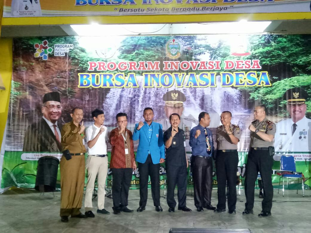 Ketua DPD KNPI Langkat Ajak Pemuda Berperan Suskeskan Inovasi Desa