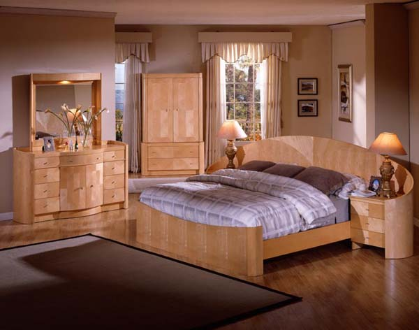 Furnishings and Supplies: Perfect Light Wood Bedroom Sets