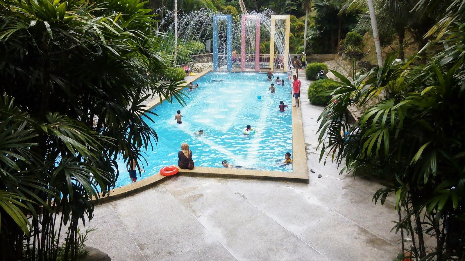 Kolam air besar, pulau pinang, taman belia, beriadah, pool for kids