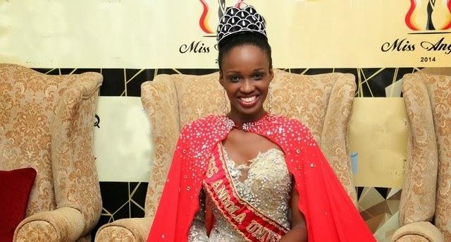 Miss Angola Universe 2014 winner Zuleica Wilson