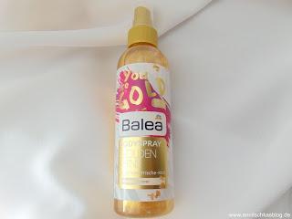 Bodyspray Golden Shine - Sommer auf der Haut - www.annitschkasblog.de