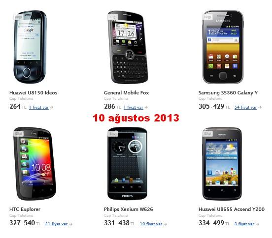 300+liralık+android+telefon