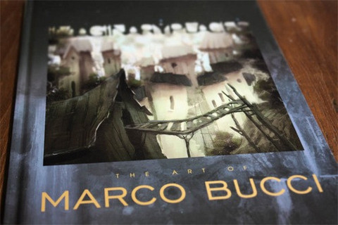 IMAGINARY PLACES ART OF MARCO BUCCI HC