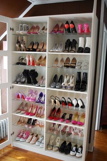 Loca por la moda buscando el organizador de zapatos ideal - Organizador de zapatos casero ...