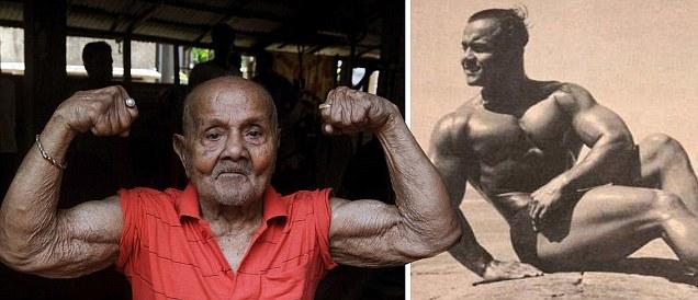 Kraftsport, Gesundheit und Langlebigkeit Manohar+aich