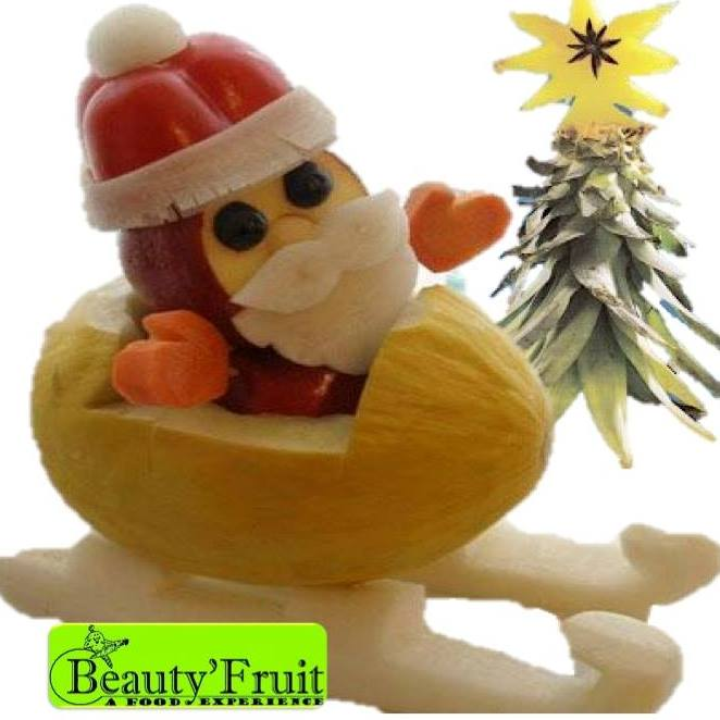 Christmas Fruit Decorations Part - 22: Christmas And New Year Themed Fruit Decorations