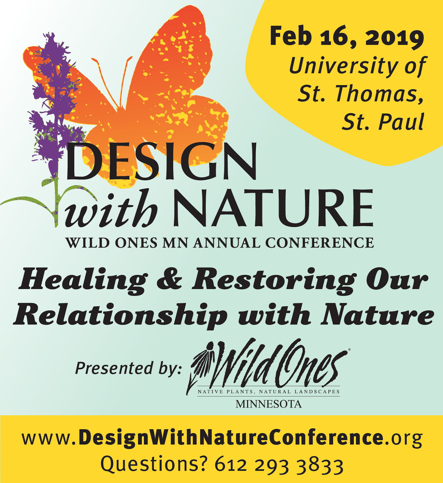 2019 Design With Nature Conference