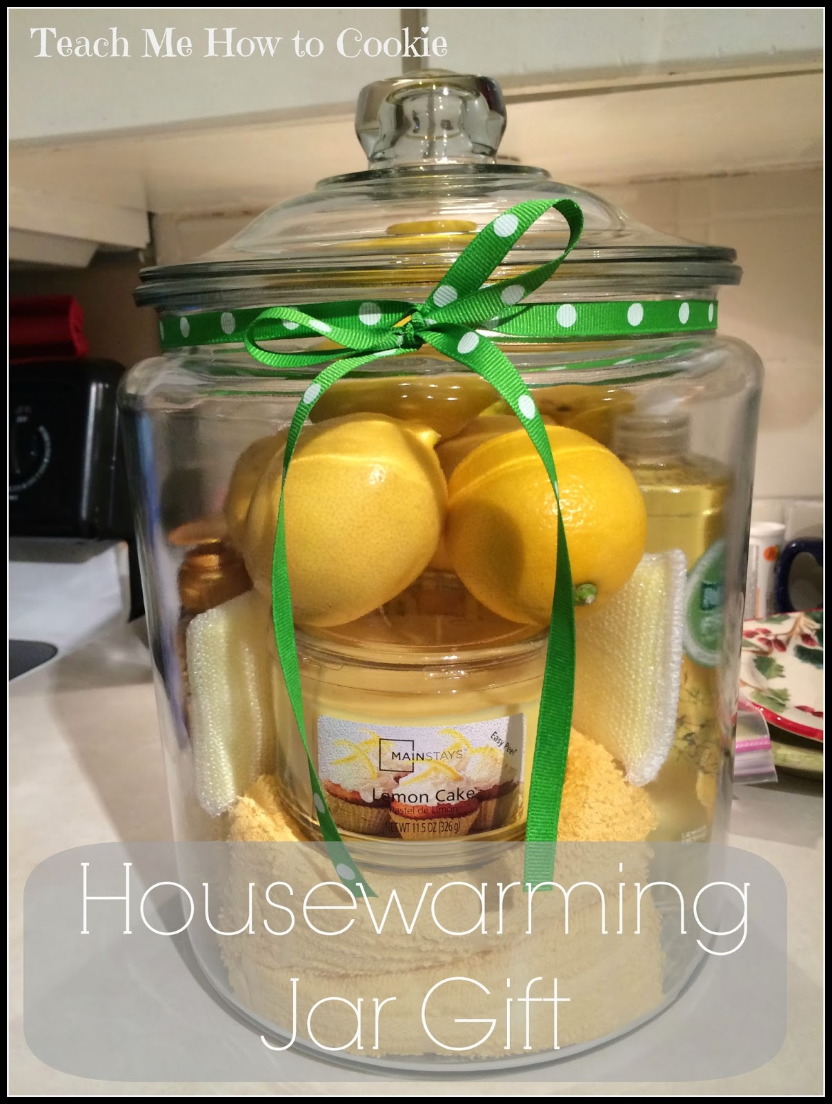 House Warming Jar Gift DIY