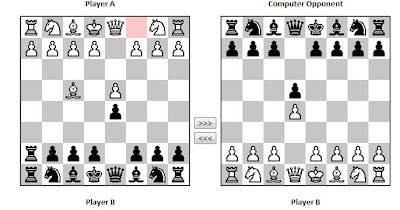 Beating any opponent in chess.