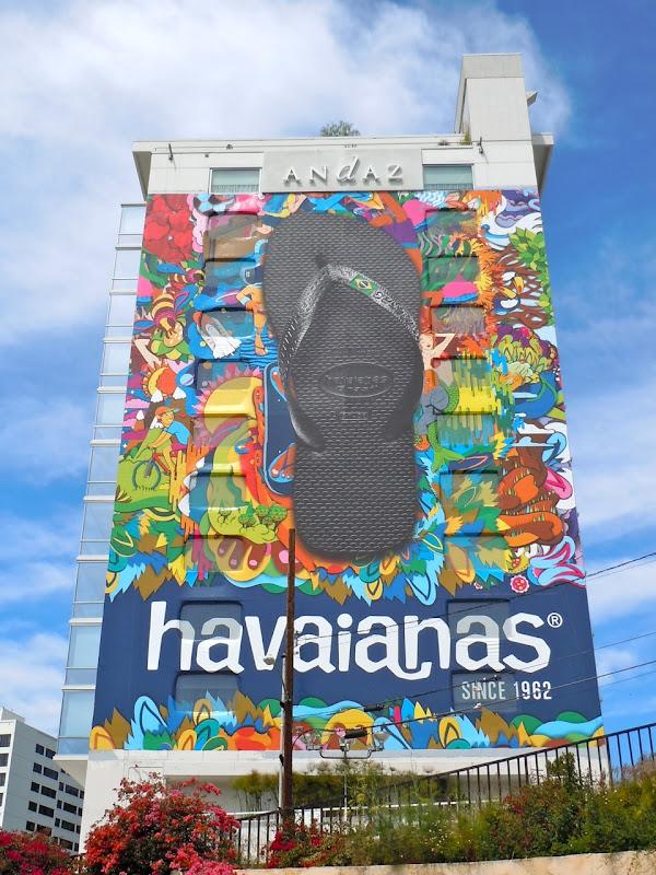 Havaianas flip flops billboard