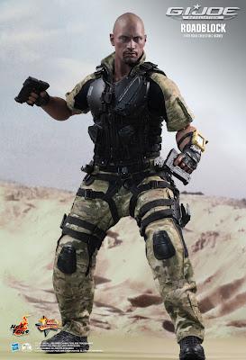 "Hot Toys GI Joe Retaliation Roadblock 12"" Figure"