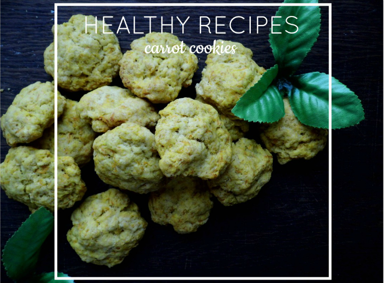 Healthy recipes: carrot cookies